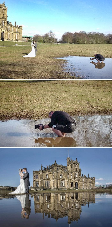 На что только не пойдет фотограф ради идеального кадра!