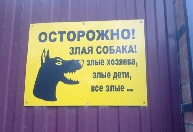 10+ предупреждений от людей с хорошим чувством юмора. Насмеялась от души.
