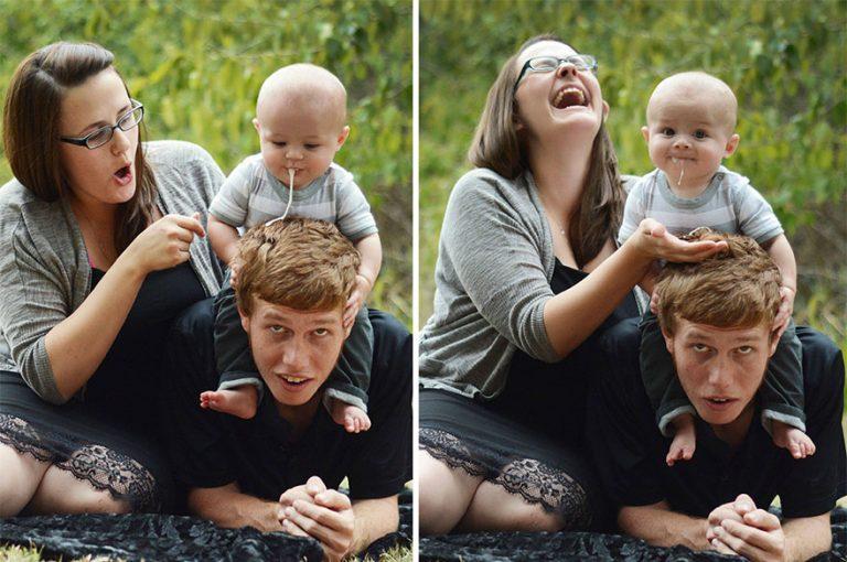 Этим деткам все равно на вашу ″идеальную фотосессию″. Давно я так не смеялась. Посмотрите, упасть можно! (12 фото)
