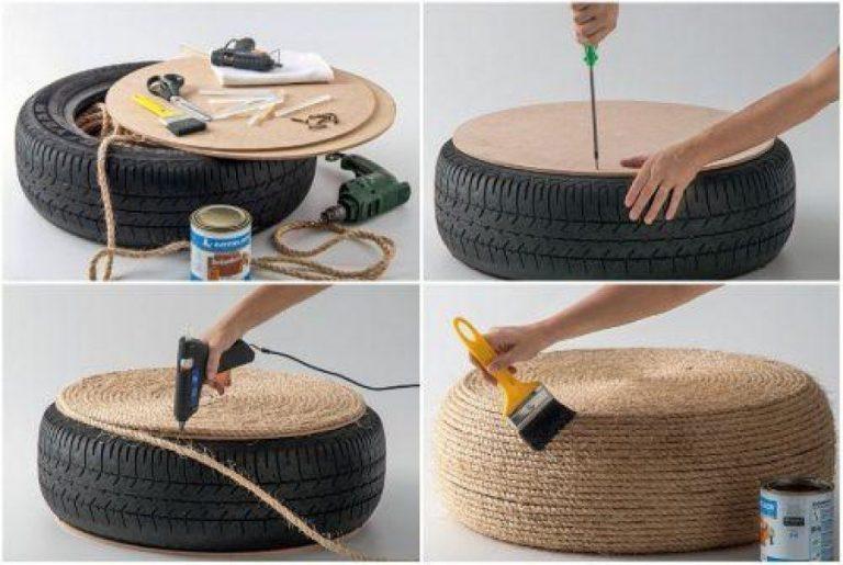 Новая жизнь старых вещей. 30 идей для автомобильных шин