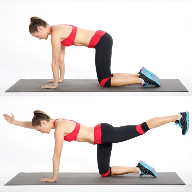 Семь упражнений, способные преобразить ваше тело всего за двадцать восемь дней